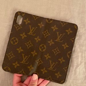 Louis Vuitton Accessories - iPhone X Max Louis Vuitton Folio case